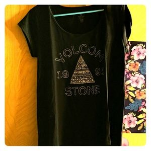 Volcom stone black shirt sleeve